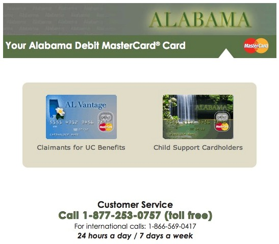 """Alabama EPPICard Customer Service"""