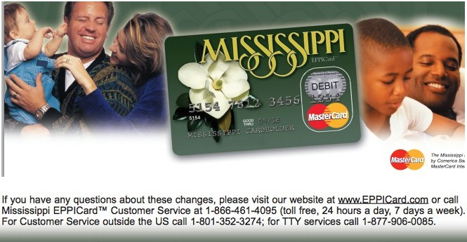 Mississippi Unemployment Card Balance and Login