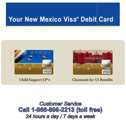 New Mexico EPPICard Customer Service Child Support and Unemployment