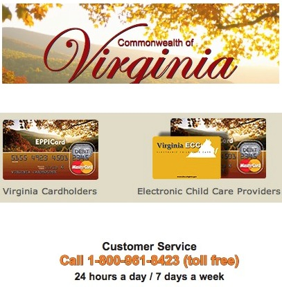 Virginia VA EPPICard Customer Service Number - Eppicard Help