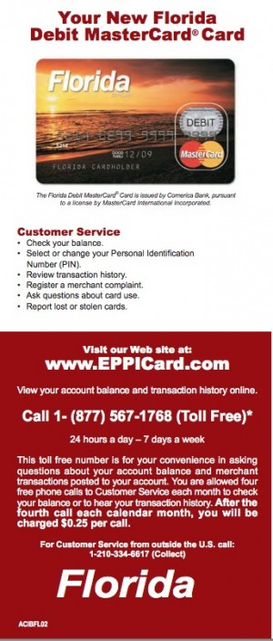 Florida-Child-Support-EPPICard-Customer-Service- Eppicard Help